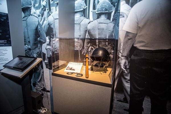 Detroit Historical Society's 1967 exhibit. - COURTESY DAN LIJANA