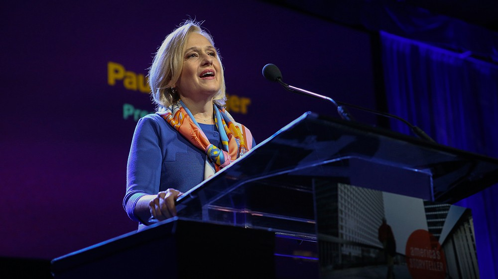 Paula Kerger, President and CEO, PBS. - COURTESY PHOTO