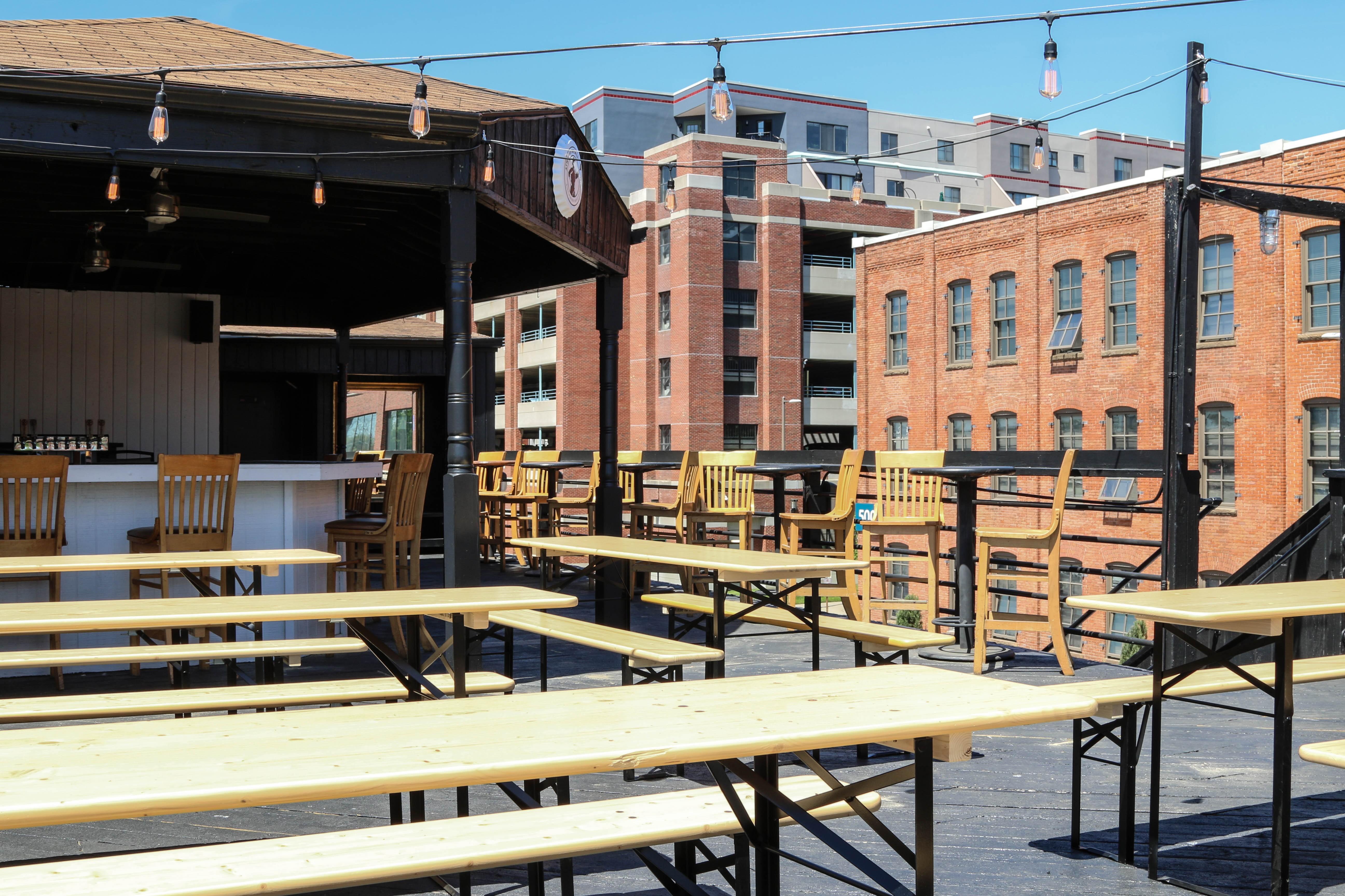 Atwater S Rivertown Rooftop Biergarten Opens Today The Scene