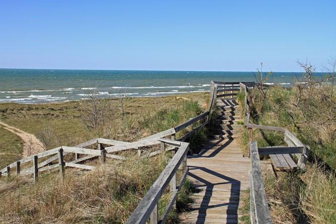 New Buffalo Beach. - SHUTTERSTOCK