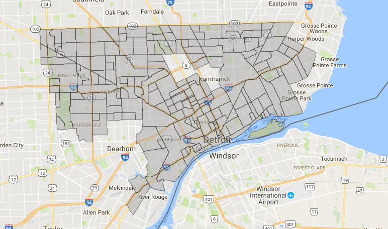 SCREENSHOT FROM DEPARTMENT OF NEIGHBORHOODS MAP SITE