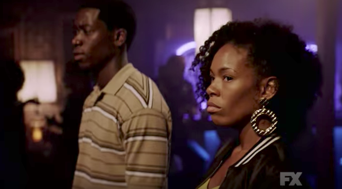 Angela Lewis on the right. - SCREENSHOT FROM TRAILER