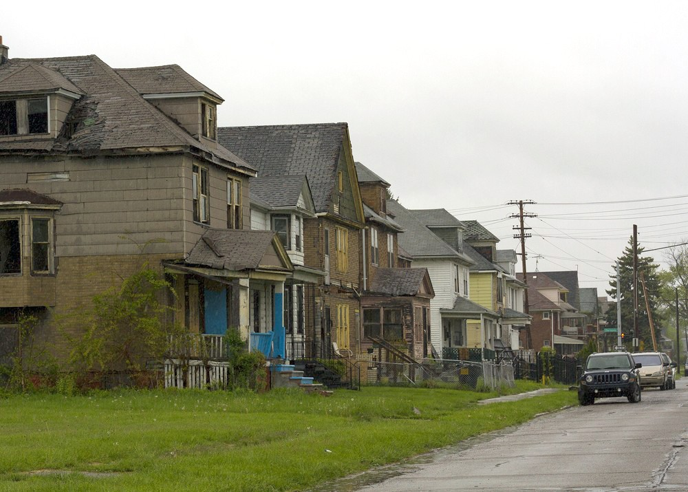 Detroit is razing houses with money intended to save them for Houses images pictures