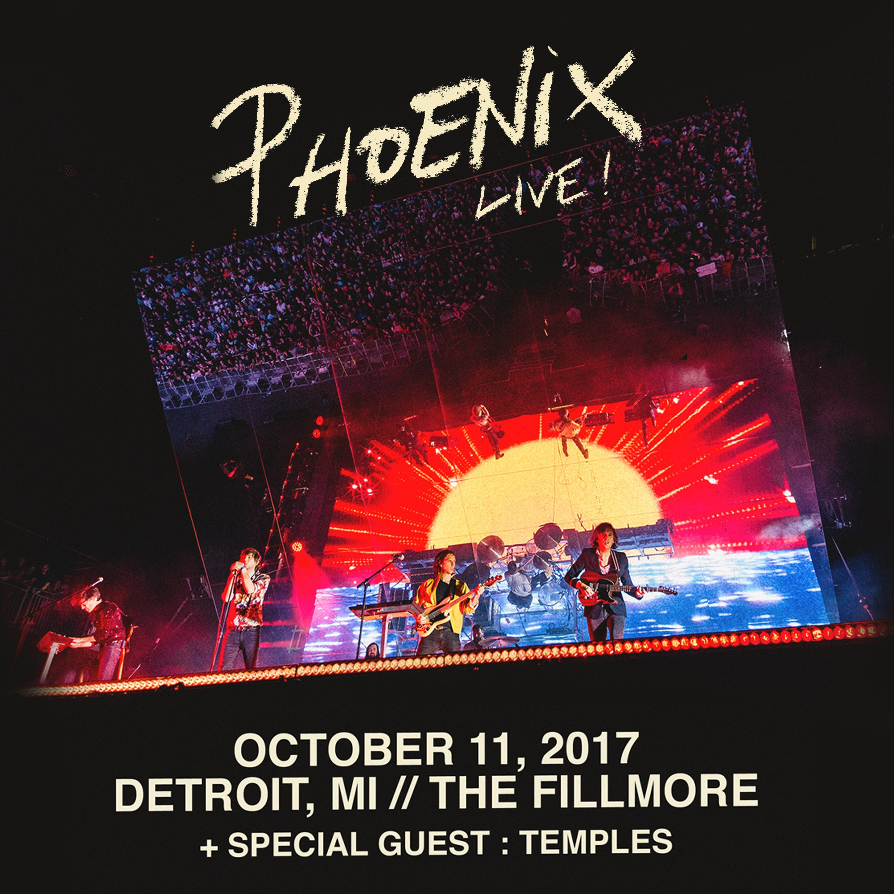 Phoenix headed to the Fillmore in October | City Slang