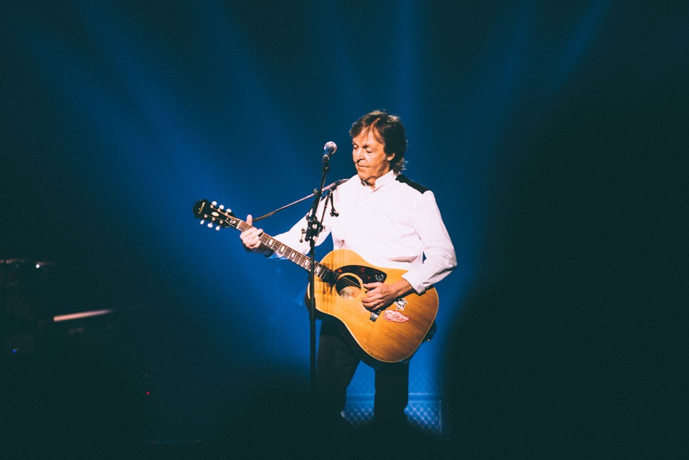 Review Sir Paul McCartney Gave Us A Ticket To An Unforgettable Ride