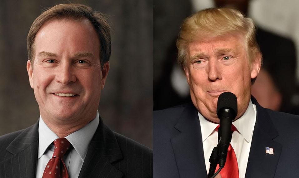 Michigan Attorney General Bill Schuette, President Donald Trump. - MICHIGAN.GOV/SHUTTERSTOCK