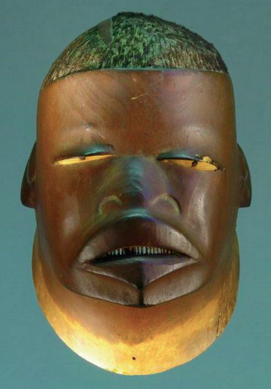 The Makonde Mapiko Mask, circa 1900, identified by cartoonist Ben Katchor.