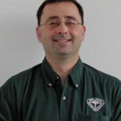 Former Michigan State University and USA Gymnastics team doctor Larry Nassar