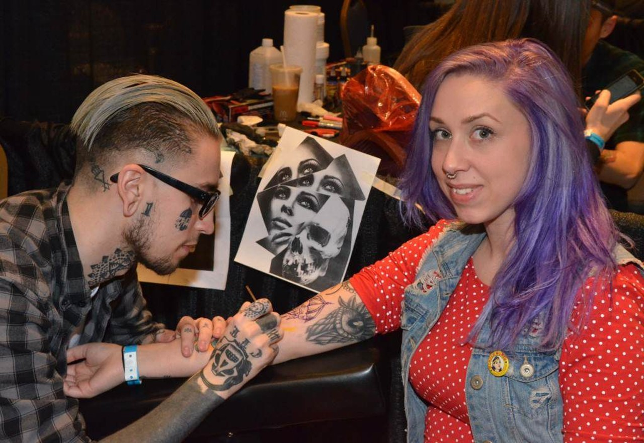 Get inked at motor city tattoo expo this weekend the scene for Tattoo expo seattle