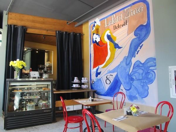 Detroit's Le Petit Zinc is open for business. - PHOTO BY VIOLET IKONOMOVA