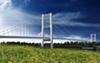 One conceptual image of the proposed Gordie Howe International Bridge.