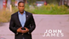John James, the Republican candidate running for senate against Debbie Stabenow.