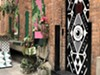 A view of the Deluxx Fluxx entrance in Detroit's most popular alley, The Belt.