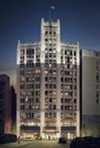 A rendering of the Element Hotel in the Metropolitan Building.