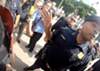 Video shows neo-Nazis push woman at Detroit Pride