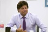 Shri Thanedar at <I>Metro Times</I>' office.