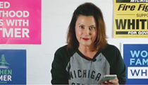 Gretchen Whitmer reads mean tweets