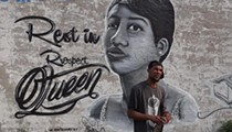 Detroit graffiti artist Sintex pays tribute to Aretha Franklin with new mural