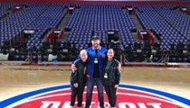 DJ Claude VonStroke comes home to perform half-time set at Detroit Pistons game