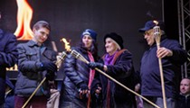 Kick-off Chanukah with eighth annual Menorah in the D at Campus Martius