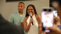Jemele Hill and Ian Wallace celebrated their engagement party at Detroit's Fisher Mansion — here's everything we saw