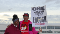 Airline food workers at Detroit Metro Airport are taking strike vote as peak travel arrives