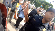 Video shows neo-Nazis push woman at Detroit Pride