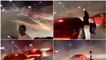 Chief Craig responds to viral video of cars blowing donuts on Lodge freeway