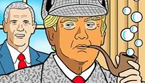 Comics: The Detective-President