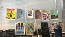 Detroit printing press to display poster series to benefit local nonprofits at Scarab Club