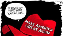 Comics: Hating America