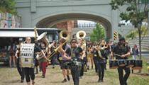 Kick brass and take names at the Detroit Party Marching Band's 10th anniversary shindig