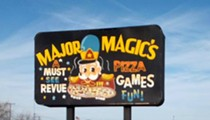 Major Magic's plots resurrection in metro Detroit with games, pizza, and yes, the animatronic band