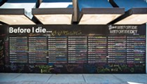 What's up with Detroit's 'Before I Die' chalkboard