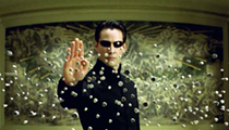 There is no spoon, but there are screenings of 'The Matrix' at Detroit's Redford Theatre