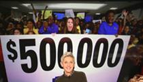 DeGeneres spreads generosity to Detroit