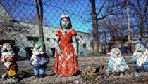 Doll discussion prompts photog to show off Detroit's other female figures