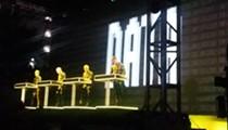 Kraftwerk gives fans a visual thrill at Movement 2016