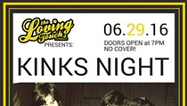 Kinks Night at the Loving Touch