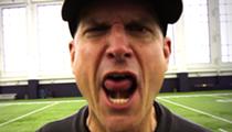 U-M coach Jim Harbaugh embraces his inner rapper in new music video