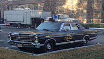 Vintage Detroit cop cars are showing up in Boston: here's why