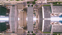 Get high and watch this drone video of Detroit