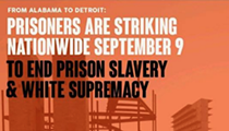 Downtown protest tonight supports nationwide prison strike