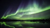 Grab your sleeping bag because you might be able to see the Northern lights tonight