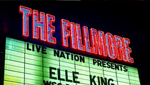 Elle King and the rest of the Fillmore got sloshed last night