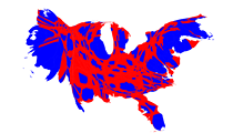 This University of Michigan professor created some election maps that actually make sense