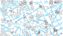Warby Parker continues to woo us with this map of the best places to sit and read in Detroit
