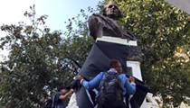City of Detroit removes Christopher Columbus statue from downtown as Black Lives Matter protests continue