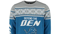 These Detroit Lions ugly Christmas sweaters are actually kind of cute