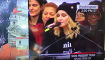Madonna tells Trump to 'suck a dick' on live TV and we are here for it